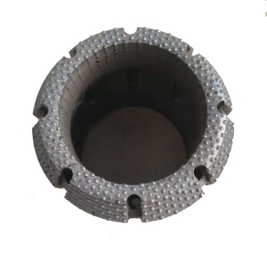 NQ HQ PQ Surface Set Diamond Core Drill Bits For Soft To Medium Hard Rocks