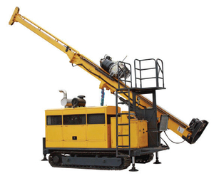 HYDX-5A, Full Hydraulic Core Drill Rig with Crawler Mounted, Geological, Mining