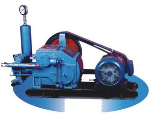 BW 160/10 Type Single Acting Reciprocating Piston, Portable Mud Pump for Drilling Rigs on Mining