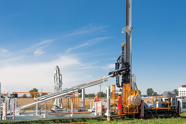 exploration drilling rig